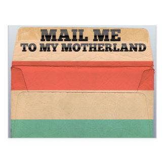 ルクセンブルクに私を郵送して下さい ポストカード