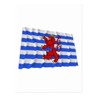 ルクセンブルクの振る旗(事実上) ポストカード