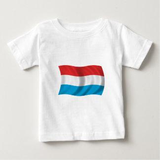 ルクセンブルクの旗 ベビーTシャツ