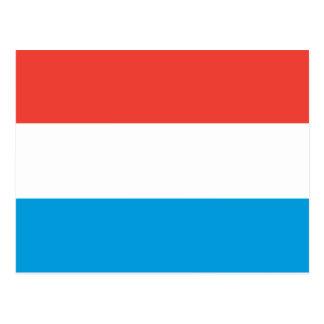 ルクセンブルクの明白な旗 ポストカード