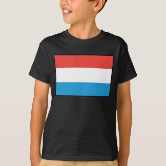 ルクセンブルクの明白な旗 Tシャツ