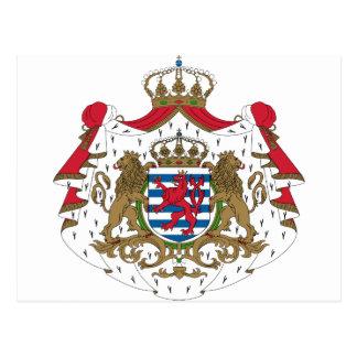 ルクセンブルクの紋章付き外衣 ポストカード