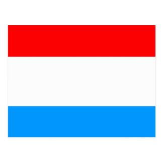 ルクセンブルクの高品質な旗 ポストカード