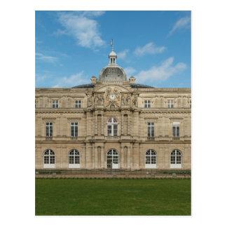 ルクセンブルク宮殿のフランスのな上院パリフランス ポストカード