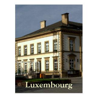 ルクセンブルク市役所 ポストカード