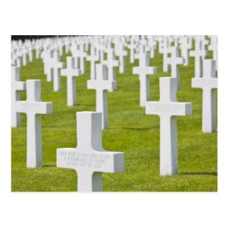 ルクセンブルク、Hamm。 米国の軍隊の墓地 ポストカード