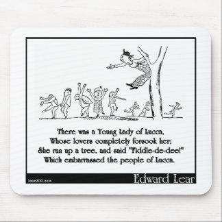 ルッカの若い女性がありました マウスパッド