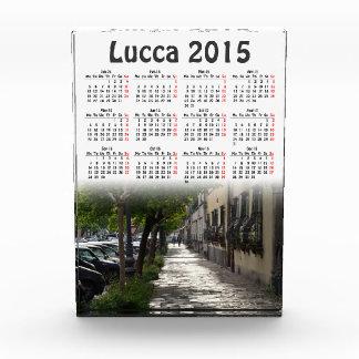 ルッカ、イタリア2015のカレンダー 表彰盾