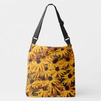 ルドベキアFulgida/オレンジConeflower クロスボディバッグ