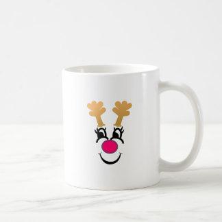 ルドルフは直面します コーヒーマグカップ
