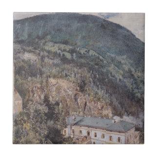 ルドルフフォン著Gasteinのセントニコラス教会 タイル