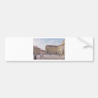 ルドルフフォンAlt著ウィーンのヨセフスクエア バンパーステッカー