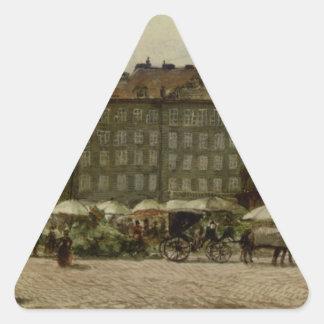 ルドルフフォンAlt著â€の‹のâ€の‹ウィーンのHof教会 三角形シール