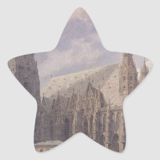ルドルフVOによるウィーンのセントスチーブンのカテドラル 星シール