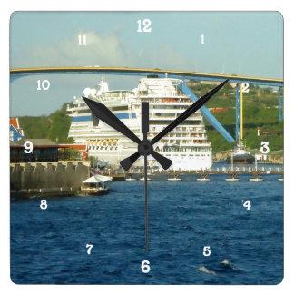 ルナの船尾 スクエア壁時計
