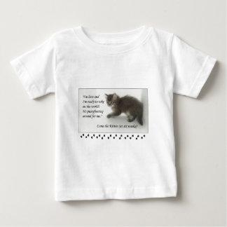 ルナは子ネコPussyfoot! ベビーTシャツ