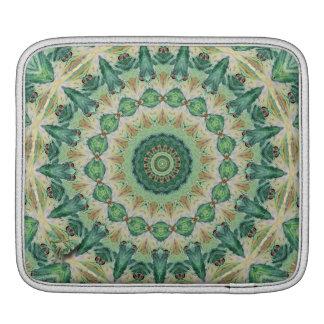 ルナガの万華鏡のように千変万化するパターンのiPadの袖 iPadスリーブ