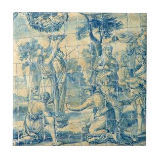ルネサンスのピクニック- Azulejoのタイル タイル