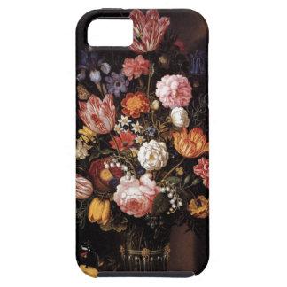 ルネサンスの花の花束の絵画 iPhone SE/5/5s ケース
