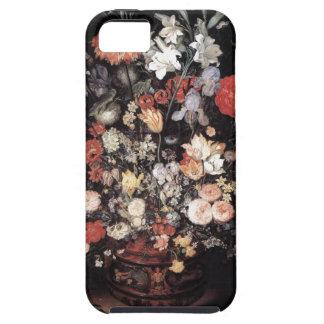 ルネサンスを絵を描く花 iPhone SE/5/5s ケース