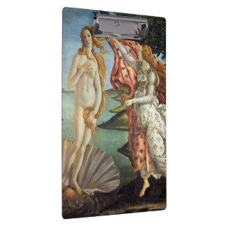ルネサンス芸術、Botticelli著金星の誕生 クリップボード