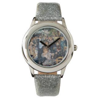 ルノアールによってLe Moulin deのla Galetteで踊って下さい 腕時計