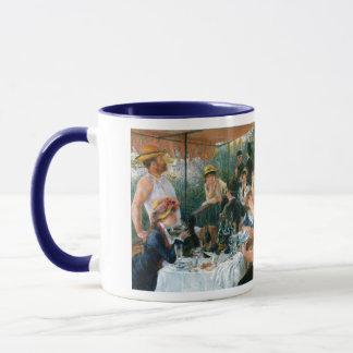 ルノアールの船遊びのパーティー(1881年)の昼食会 マグカップ