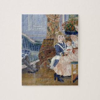 ルノアール著Wargemont 1884年の子供の午後 ジグソーパズル