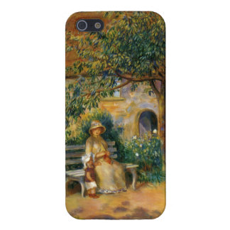 ルノアール: ブリッタニーの庭の場面 iPhone 5 CASE