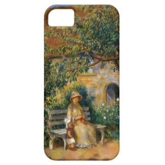 ルノアール: ブリッタニーの庭の場面 iPhone SE/5/5s ケース