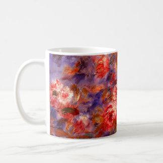 ルノアール: 窓によるバラ コーヒーマグカップ