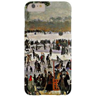 ルノアール- Bois deブローニュ1868のスケート選手 Barely There iPhone 6 Plus ケース