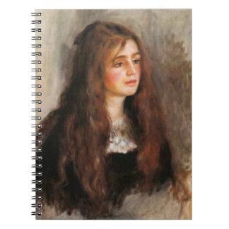 """ルノアール""""Portrait deジュリーManet """" ノートブック"""
