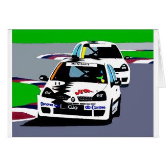 ルノーClioのレースカー カード