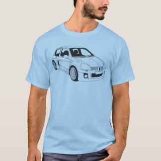 ルノーClio V6ルノーは段階2を遊ばします Tシャツ