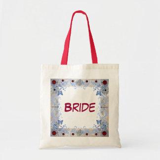 ルビーのアールデコの結婚 トートバッグ