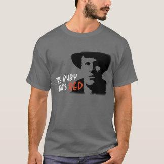 ルビーは赤い探偵のマリガンのTシャツを走ります Tシャツ