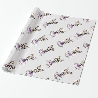 ルビーチワワの包装紙 ラッピングペーパー