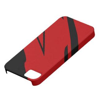ルビー色のガーネットおよび黒檀のiPhone 5の場合 iPhone 5 Cover