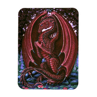 ルビー色のドラゴンの報酬の磁石 マグネット