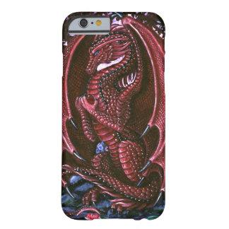 ルビー色のドラゴンBarelyThere Barely There iPhone 6 ケース