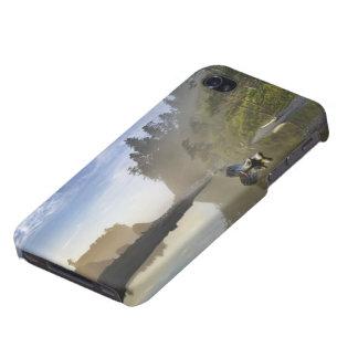 ルビー色のビーチ、オリンピック国立公園の日没、 iPhone 4/4Sケース