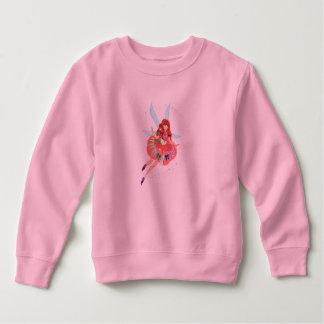 ルビー色の公式の服の幼児のフリースのスエットシャツ スウェットシャツ