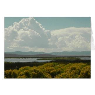 ルビー色の沼地、ウサギブラシ カード
