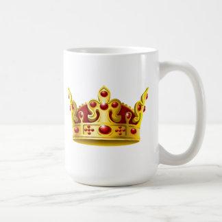 ルビー色の王冠 コーヒーマグカップ