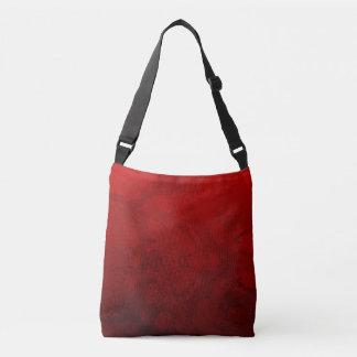 ルビー色の赤いデザイン クロスボディバッグ