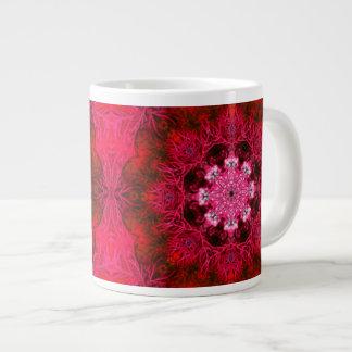ルビー色の赤い珊瑚のジャンボマグ ジャンボコーヒーマグカップ