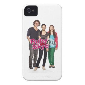 ルビー色のSkye P.I. Blackberry Case Case-Mate iPhone 4 ケース