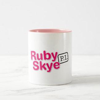ルビー色のSkye P.I. Mug ツートーンマグカップ