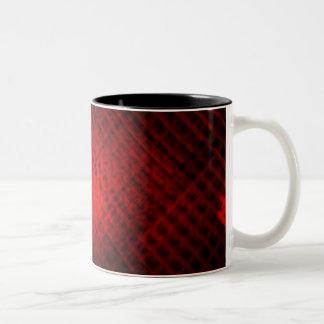 ルビー色プリズムマグ ツートーンマグカップ